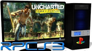 RPCS3 0.0.4 PS3 Emulator - Uncharted: Drake