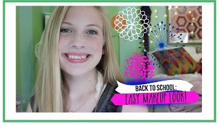 Back to School: Easy Makeup!!! 2014 (Collab with emmacatherine09!) Thumbnail