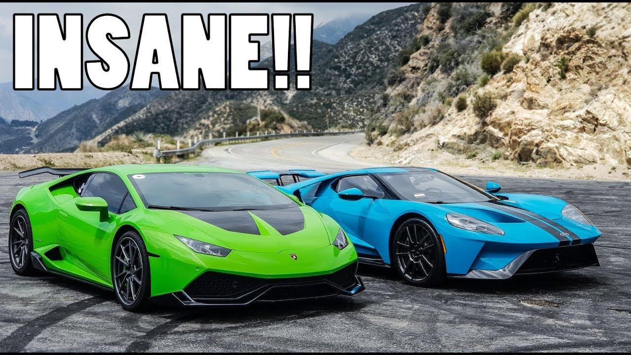 Ford Gt Vs Bhp Lamborghini Huracan