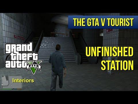 The GTA V Tourist: Unfinished LST Train Station (Pillbox North)