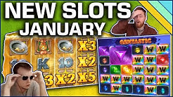 Best New Slots of January 2019