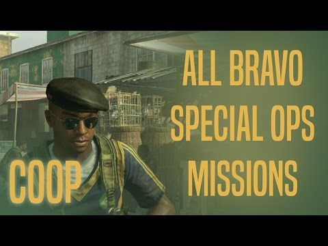 Special Ops - Bravo Missions COOP - 3 Stars - MW2