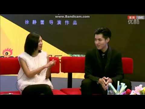 141105 (5/5) KRIS WU YIFAN & Xu Jingle SINA GUESTS INTERVIEW