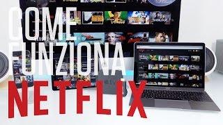 Come funziona Netflix in Italia — Guida al risparmio, catalogo, abbonamento, e App iOs