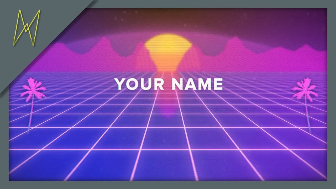 Vaporwave Intro || AFTER EFFECTS CS6
