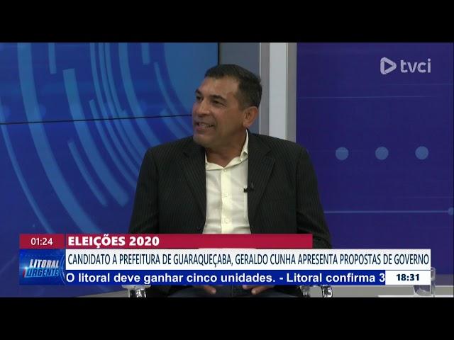 ELEIÇÕES 2020: Entrevista Geraldo Cunha