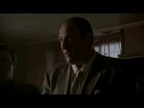 The Sopranos-Christopher becomes a made guy