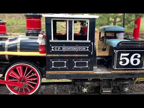 North Pole Express Railroad - C.P. Huntington - Colorado