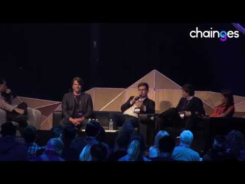 Banks on Blockchain discussion panel at Chainges