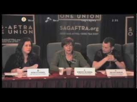 SAG AFTRA Livestream Info Meeting 2/29/12 Part 3 of 5