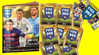 PANINI FIFA 365 2016 Sticker Album Collection Football Stickers Pack Opening by Toy Review TV