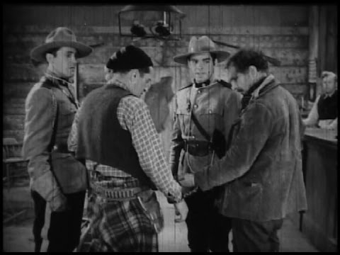 PERILS OF THE ROYAL MOUNTED - chapter 1 (pt. 2 of 4) 1942 western movie serial