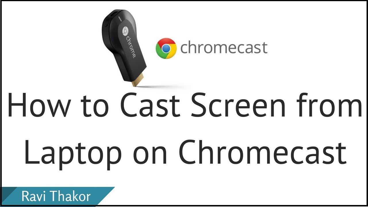 all cast pc to chromecast