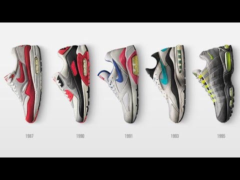 c429d323a Nike Air Max: The evolution