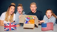 British People Trying American Halloween Candy & Snacks 🇺🇸🇬🇧🎃