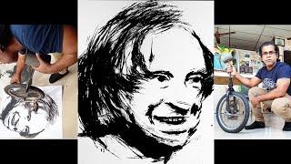 Dr. APJ. Abdul Kalam Portrait / Abdul Kalam / Former President Abdul Kalam / Indian President