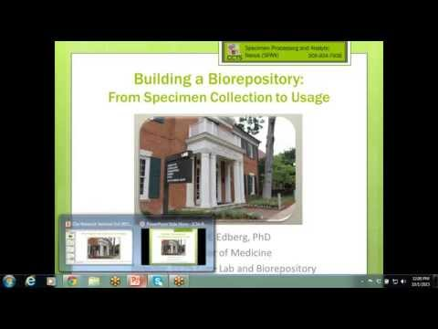 Building a Biorepository from Specimen Collection to Usage