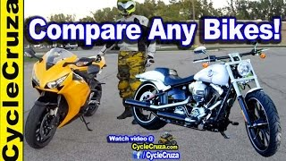 Cruiser vs SuperSport Motorcycle - Compare Any Motorcycles! | MotoVlog
