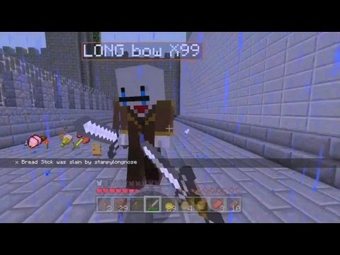 Minecraft Xbox – Survival Games – Sneaky Stampy