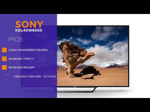 SONY KDL 40W650D TV Review