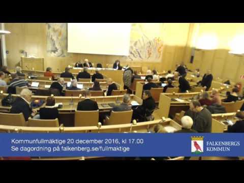 Kommunfullmäktige 20 december 2016