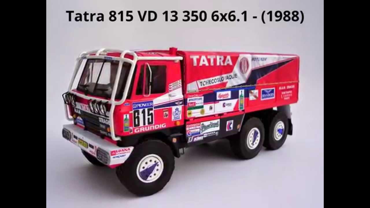 Papercraft Tatra 815 VD 13 350 6x6.1-1988 Paper Model