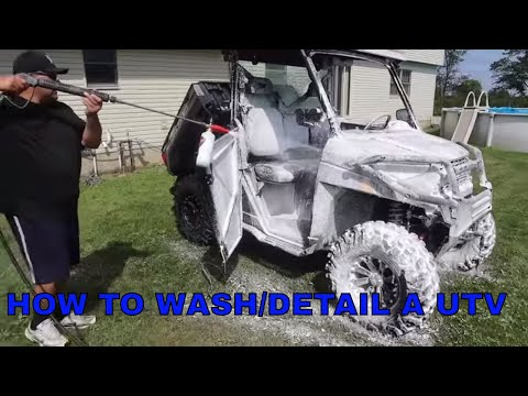 How to Wash And Detail Your UTV/SXS To Keep It Looking New!!