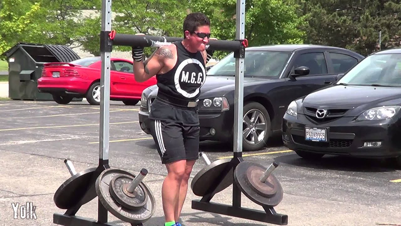 Garage Gym With Car Strongman Equipment Monster Garage Gym