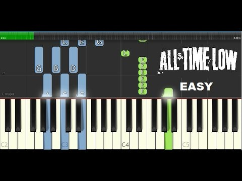 Dirty Laundry All Time Low Piano Tutorial Youtube