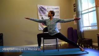 Hadiya Movement Systems | Virtual Movement Studio | Chair Yoga - Intro