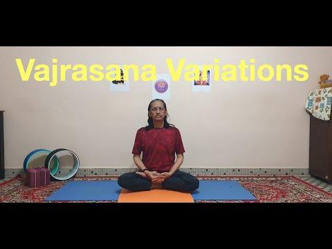 Sitting Asanas Vajrasana Variations