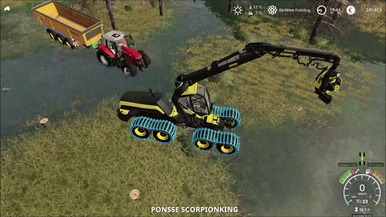Farming Simulator 2019 | A nut throws you futher into the front