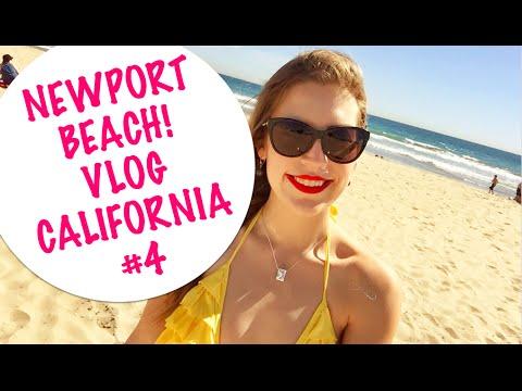 NEWPORT BEACH, CIDADE DO SERIADO THE OC, UM ESTRANHO NO PARAISO CALIFORNIA VLOG #4