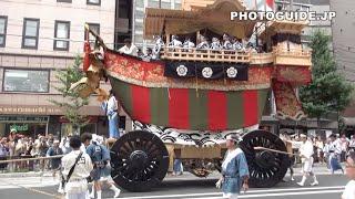 Kyoto Gion Matsuri's New Boat Float at Ato Matsuri 2014 祇園祭・後祭 山鉾巡行・花傘巡行 thumbnail