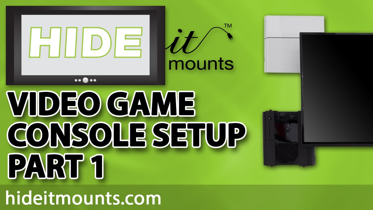 Gaming Setup Part 1 Organize Your Video Game Consoles Youtube