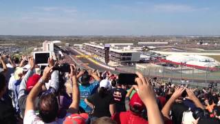 2012 United States F1 Grand Prix Start - Nov 18 - Austin, TX