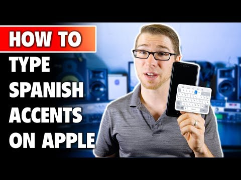 How to Type Spanish Accents on macOS and iOS (iPhone)