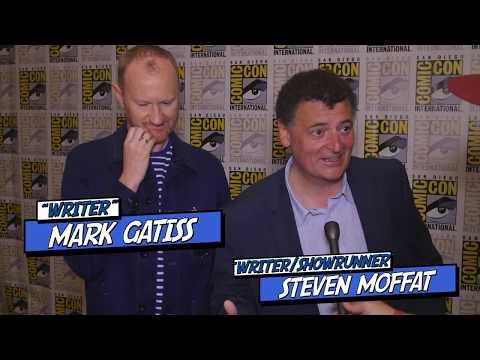 Steven Moffatt & Mark Gatiss discuss Doctor Who - Writing, the next showrunner & things remembered