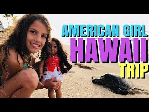 American Girl Nanea in Hawaii