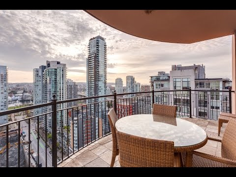 2500 - 1280 Richards Street, The Grace Yaletown, Luxury Condo in Vancouver