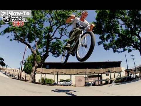 BMX Basics: How-to 180 and 360 Bunnyhop With Morgan Long - TransWorld RIDEbmx