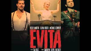 Evita Broadway 2012: Another Suitcase in another hall.