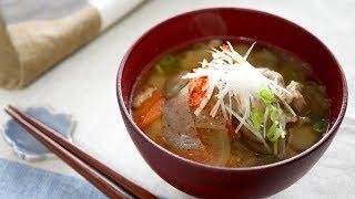 豚汁 cook kafemaruさんのレシピ書き起こし