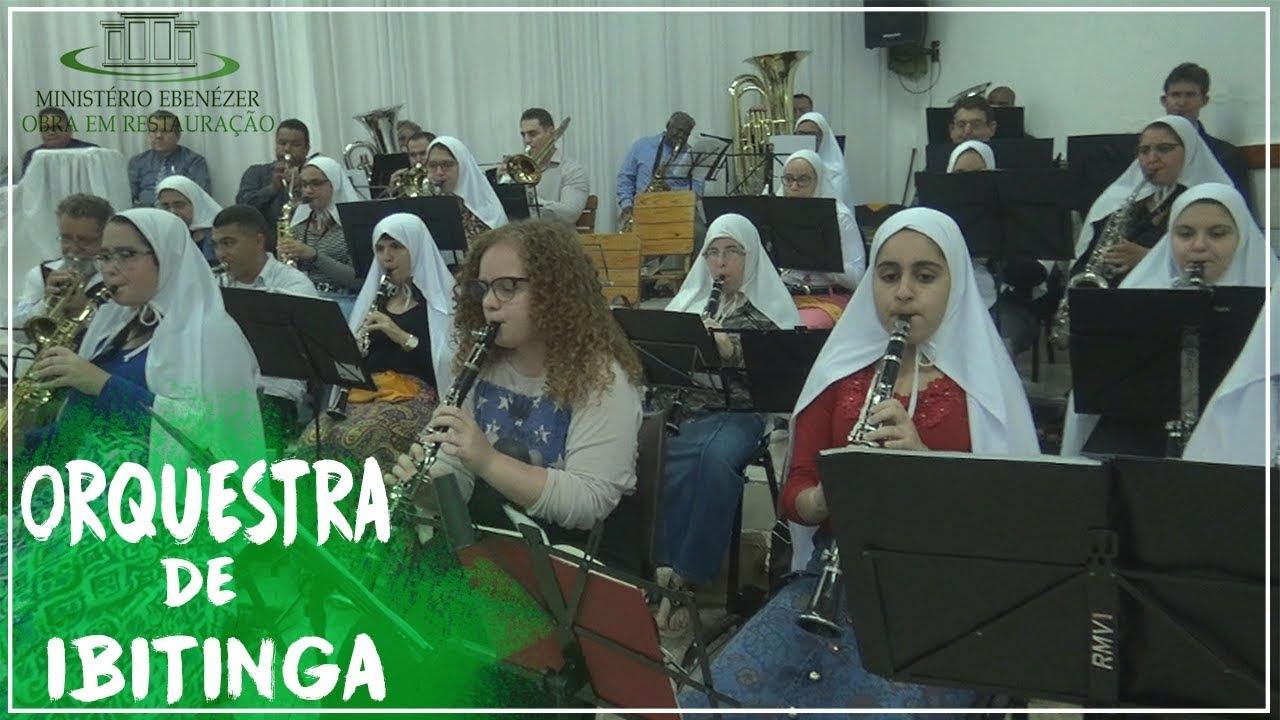 Orquestra de Ibitinga. Culto dia 19/08/2018