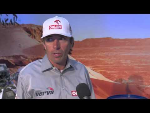 Konferencja ORLEN Team przed rajdem Dakar 2016