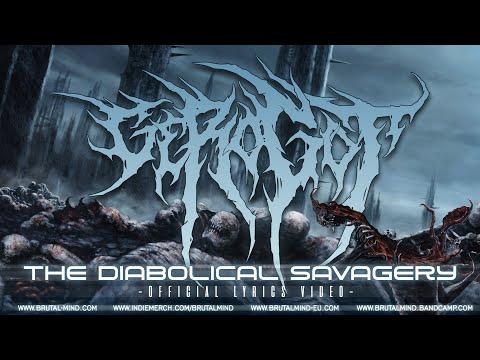 GEROGOT - The Diabolical Savagery   Official Lyrics Video   BRUTAL MIND