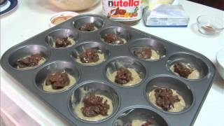 Recipe Swap: Nutella Filled Donut Muffins (liza & Jennifer)