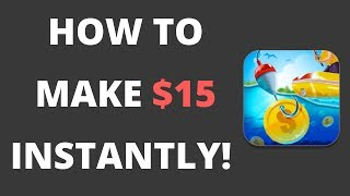 HOW TO MAKE $15 INSTANTLY AGAIN AND AGAIN BY PLAYING A GAME! {PROOF!}