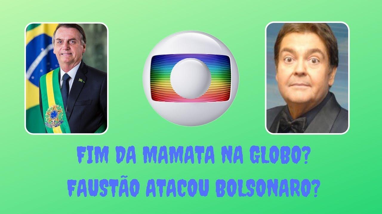 Globo continua errando, até quando? Faustão atacou Bolsonaro?