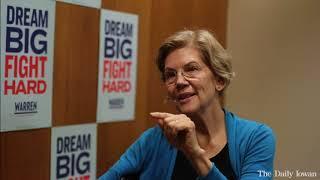 Full Interview: Sen. Elizabeth Warren